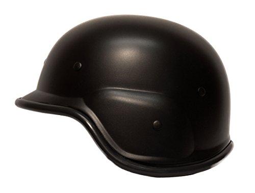 Standard Airsoft Helm in Tan, Schwarz und Grün, Airsoft Zubehör, Qualität Softair Tactical Helm !!! (Black)