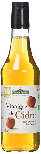 Côteaux Nantais Vinaigre de Cidre Bio 500 ml - Lot de 3