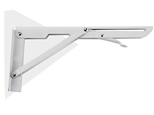 Staffa per mensola in metallo montata a parete supporto per mensola triangolare in metallo staffa per supporto angolare supporto per staffa staffa per fissaggio a parete (dimensioni : 500 * 168mm)