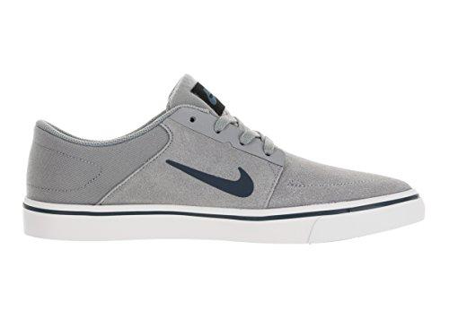 Nike Herren SB Portmore Turnschuhe Gris (Gris (Stealth/Squadron Blue))