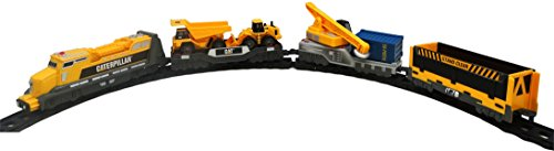 ODS 37757 Caterpillar Playset Treno Piccolo