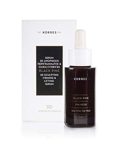 Korres Black Pine Straffendes Anti-Falten Serum für alle Hauttypen, 30ml