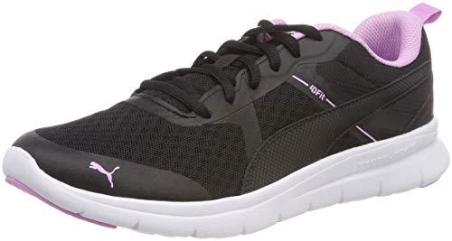 Puma Unisex-Erwachsene Flex Essential Sneaker, Schwarz Black Orchid 13, 41 EU
