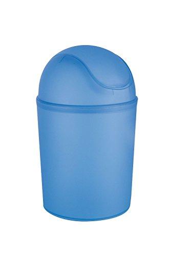 poubelle plastique couvercle bleu. Black Bedroom Furniture Sets. Home Design Ideas