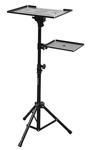 Bespeco LPS100 Laptop und Projektionsapparat-Ständer - Beamer Stand-wagen