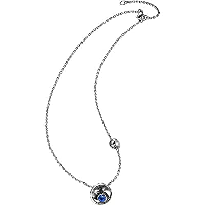 Breil Women's Necklace with Pendant Stainless Steel White Crystal 43 cm – tj1656