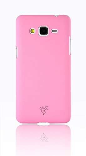 Parallel Universe Smooth Matte finish Premium Hard cover for Samsung Galaxy Grand Prime - Baby Pink  available at amazon for Rs.199