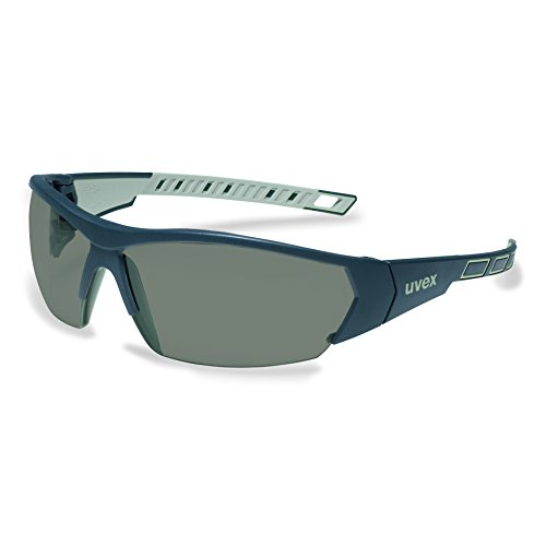 uvex i-works 9194 Unisex Brille EN 166 mit UV-Schutz + Mikrofaserbeutel - Sonnenbrille Schutzbrille...