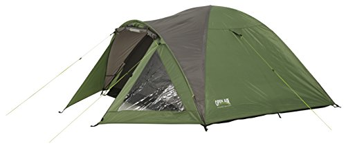 Open Air Alpe d´Huez Camping-Trekkingzelt für 4 Personen, grün/grau