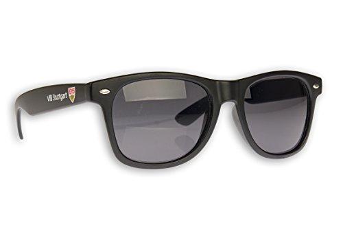 VFB Stuttgart Sonnenbrille Stuttgart Fanbrille verschiedene Varianten (Ohne Logo schwarz)