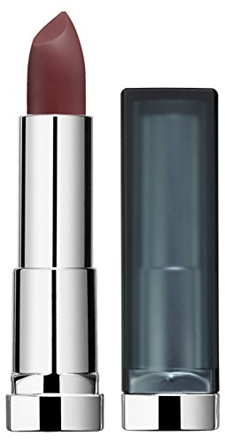 Maybelline New York Color Sensational Creamy Matte Lippenstift Nr. 989 Brown Blush, 3er Pack (3 x 4 g) - Brown Matte Lippenstift