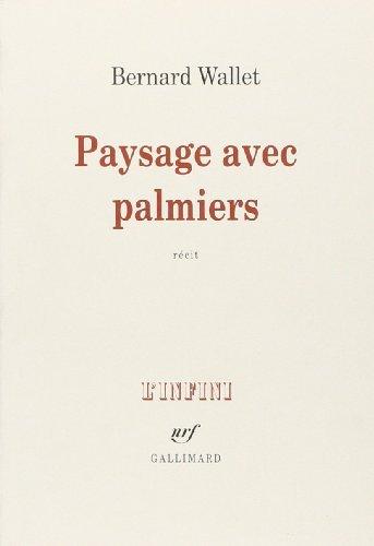Paysage Avec Palmiers [Pdf/ePub] eBook