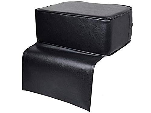 Beauty Salon Spa Equipment - Cojín para silla de peluquería, asiento elevador para niños, sillas altas, asiento auxiliar de aumento para bebé y niños, piel negra