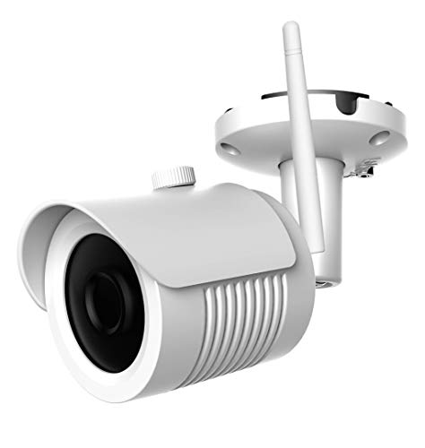 Cantonk IPR25H200W - Telecamera IP Wi-Fi per esterni, Sensore SONY Full HD  1080p