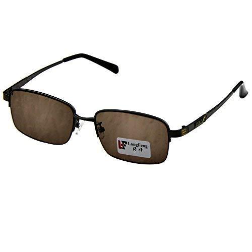 Vogue Half Frame natürlichen Kristallfelsen Spiegel der männliche Stil der Half Frame Business Erholung halten Auge Sonnenbrille frisch und kühl schützen die Augen