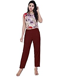 d65e90af0b16a Rayon Women's Trousers: Buy Rayon Women's Trousers online at best ...