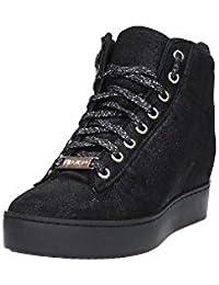 Liu Jo Botas Mujer Sneaker Caffe Bottines Aumentar Cm 6 Cuero Negro d1fa1af14e1