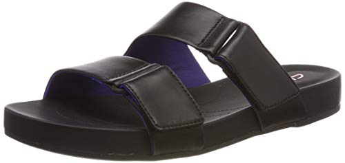 Clarks Damen Bright Deja Pantoletten, Schwarz (Black Leather), 37 EU