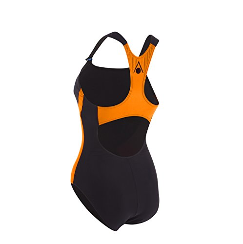 Aqua Sphere Siskin Costume da bagno, da donna nero - Black/Light Orange