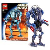 2002 Lego-sets (Lego Year 2002 Star Wars Series 12 Inch Tall Droid Set #8012 - SUPER BATTLE DROID with Movable Arms and Legs Plus Arm Guns (Total Pieces: 381) by Star Wars)