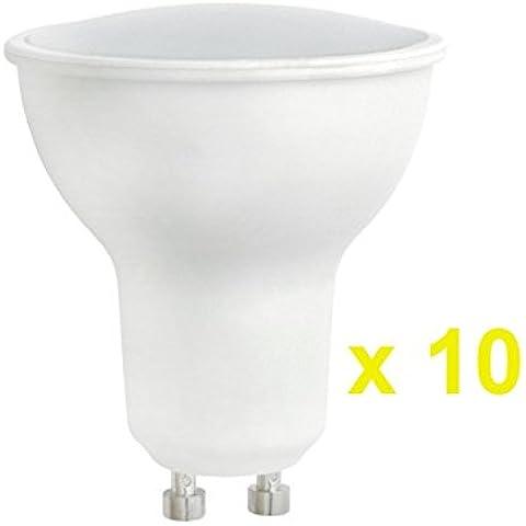 Confezione da 10spettro LED GU106W 500LM (equivalente a lampadina alogena