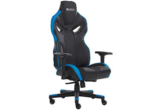 Sandberg Voodoo Gaming Chair Black/Blue, 640-82 (Prozessor Für Gaming)