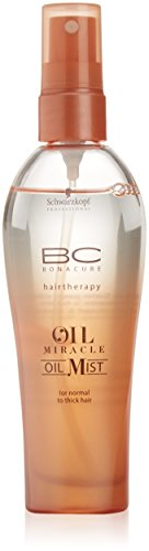 Schwarzkopf BC Oil Miracle Oil Mist Spray pour Cheveux Epais 100 ml