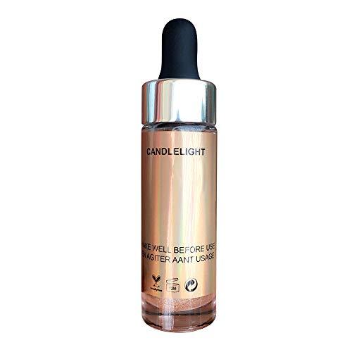 Best Sexy Gift! Beisoug 6 Farben Highlighter Make-up Concealer Glanz glühen Gesichtsflüssigkeits-Highlighter schafft
