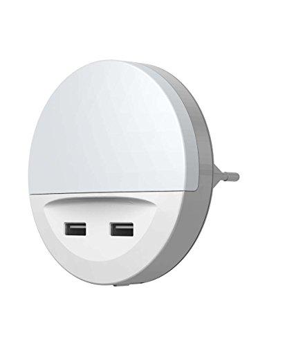 Osram Lunetta USB Luz de noche, 1 W, Blanco
