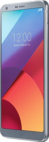 Preisvergleich Produktbild LG G6 Smartphone (14,47 cm (5,7 Zoll) Display, 32 GB Speicher, Android 7.0) Platinum