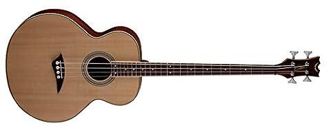 Dean Guitars Acoustic Electric Bass Guitar - Satin Natural