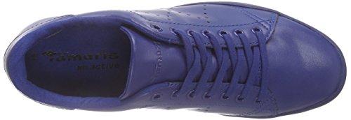 Tamaris 23605, Baskets Basses femme Bleu (NAVY 805)