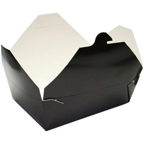 Bio Pak Container–Nero–# 3–Bio Pak confezione–56oz/1650ml–1Pezzi