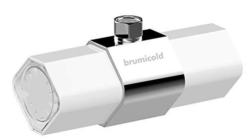 BRUMICOLD FILTRO DUCHA BEC-5026 Ultrafiltracion universal con membrana PE 1 micron, reduce el cloro, ablanda cal, elimina metales pesados, microplasticos, elimina irritantes perjudiciales para la piel, pelo y ojos, recambio disponible,chuveiro