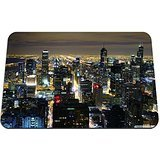 La Dame De Chicago - beautiful chicago skyline at night - Gaming
