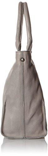 Leggenda Signore Bardot Tote, 10x30x30 Cm Grigio (grigio)