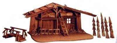 Hummel Mini Kinder-Krippe Krippen-Stall ohne Figuren
