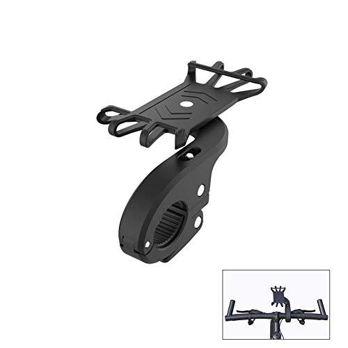 Yuhtech Handy-Halterung, universell einsetzbar, 360 ° drehbar, Schwarze Handyhalterung für Xiaomi Mijia M365 Elektro-Scooter - Griffdurchmesser 24-29,5 mm