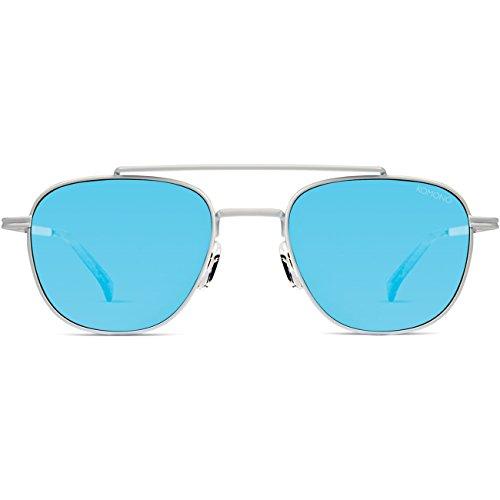 Komono Herren Sonnenbrille ALEX , Größe:ONESIZE, Farbe:weiß, Farben:RACER WHITE