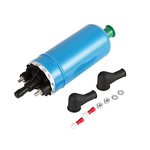 e externe Inline-Ersatzkraftstoffpumpen Kraftstoffeinspritzung Steigungskraftstoffpumpe Kompatibel für Reynolds 0580464038 0580464070 ()
