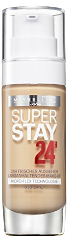 Maybelline New York Super Stay 24H Make-Up Sand 030, 1er Pack (1 x 30 ml)
