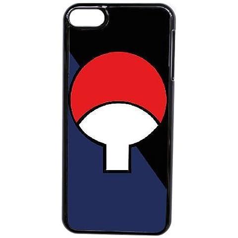 Generic Custodia iPod Touch 6, okl9073308Uchiha Crest DIY Cell Phone Case per iPod Touch 6Nero [, con protezione per lo schermo in vetro temperato per iPod Touch 6]