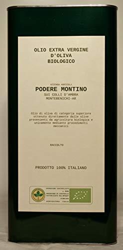 Colli d'Ambra - Olio Extravergine di Oliva Biologico di categoria superiore 100% Toscano