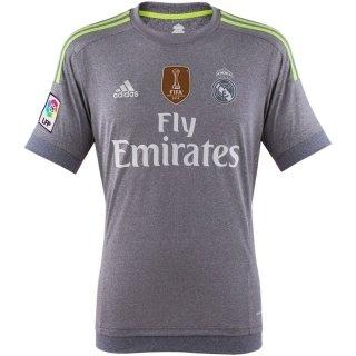 adidas Real A JSY YWC - Camiseta para niño, color gris / lima, talla