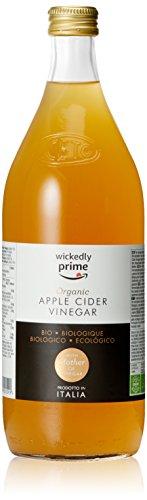 Marque Amazon - Wickedly Prime Vinaigre de cidre biologique avec « mère de vinaigre »