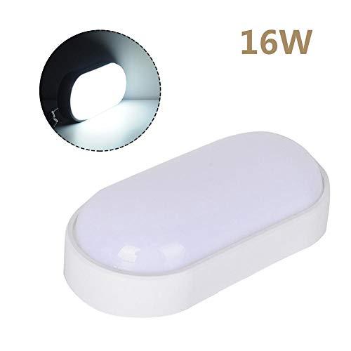 Plafón 16W / 20W LED Ovalado IP65 Impermeable Lámpara De Pared Redonda Resistente Al Agua Lámpara...