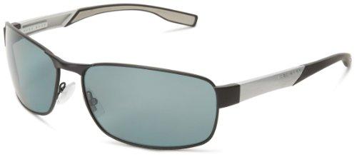 BOSS Hugo Herren 0569/P/S RA 92K Sonnenbrille, Schwarz (Black Mtpalla/Grey Pz), 65