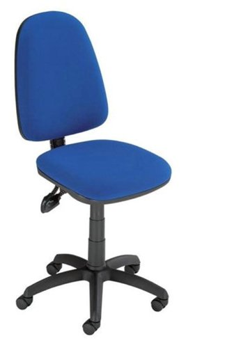 Trexus Office Operator Chair Asynchronous High Back H510mm W465xD450xH425-540mm Blue