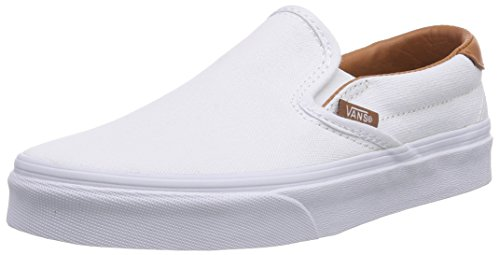 Vans SLIP-ON 59, Unisex-Erwachsene Sneakers, Weiß ((Washed C L) tr FQ8), 40.5 EU (Schuhe Loafer Signature)
