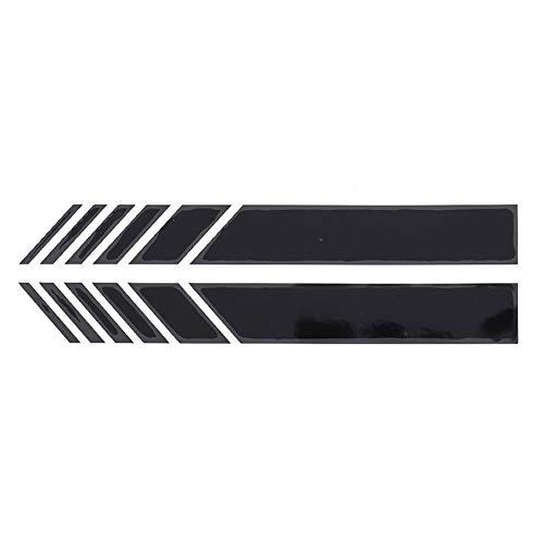 AITU Auto Aufkleber 2 Stücke/Auto Styling Auto Vinyl Grafik Auto Aufkleber Rückspiegel Seite Aufkleber Streifen DIY Auto Körper Aufkleber -